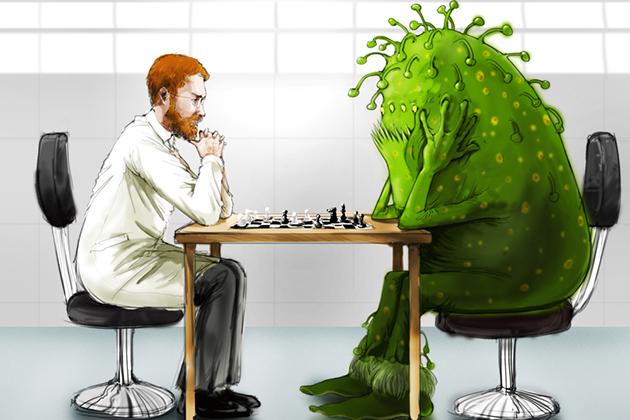 Baktērija pret Ārstu - Šahs